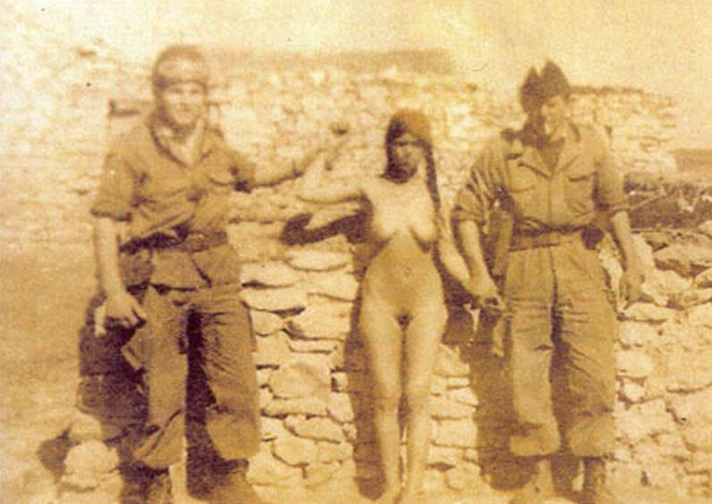 woman of war nude