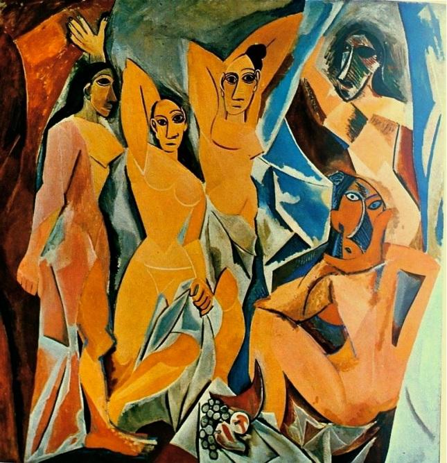 """Résultat de recherche d'images pour """"Matisse et Picasso, les demoiselles d'Avignon"""""""